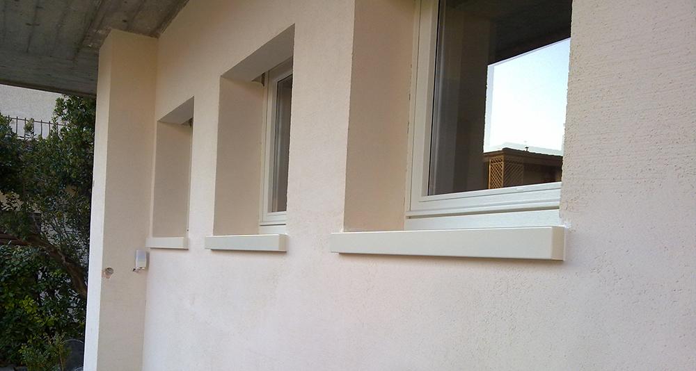 I davanzali per cappotto termico bloccano le dispersioni - Davanzali per finestre ...