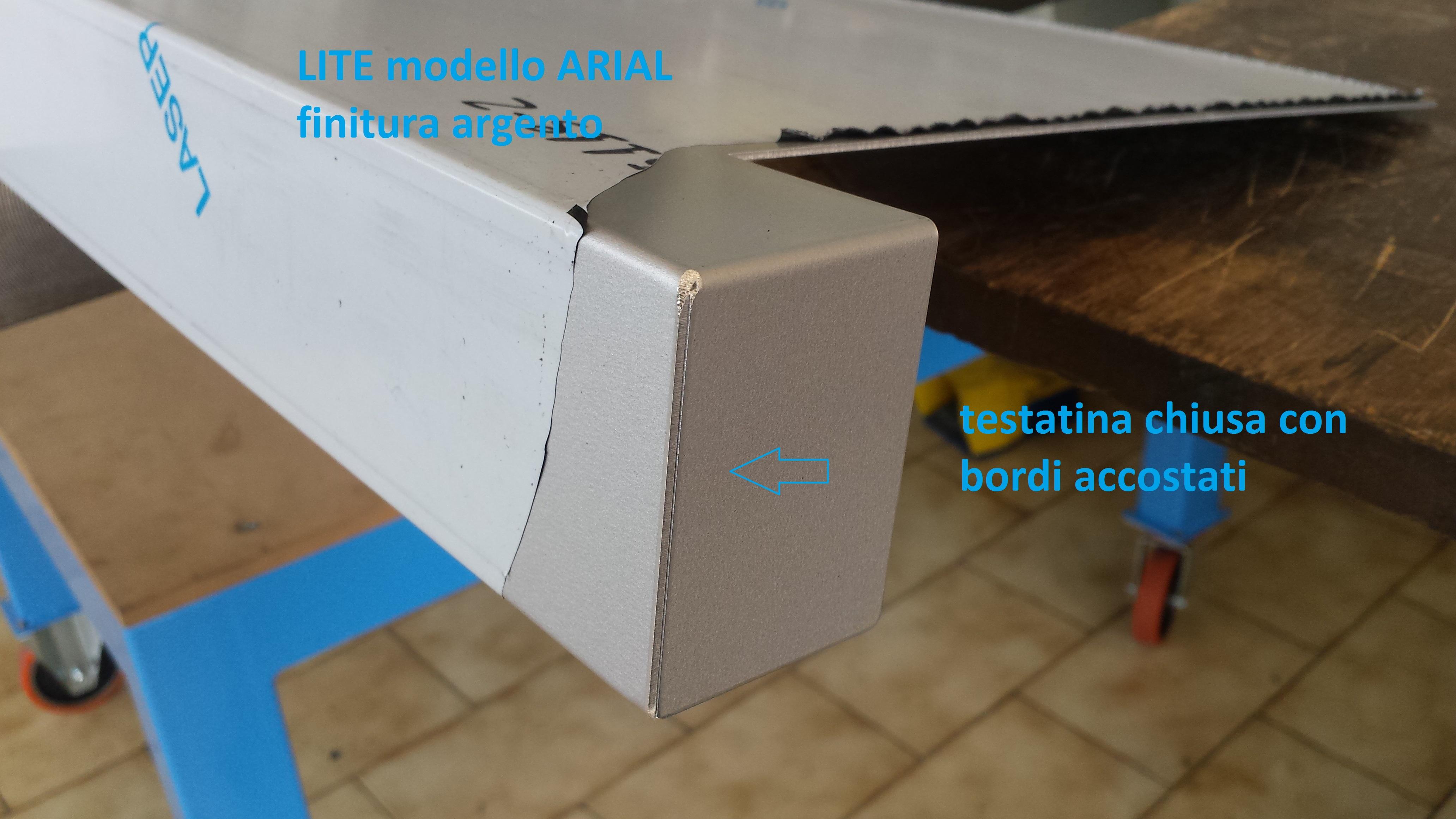 Davanzali in Alluminio Lite