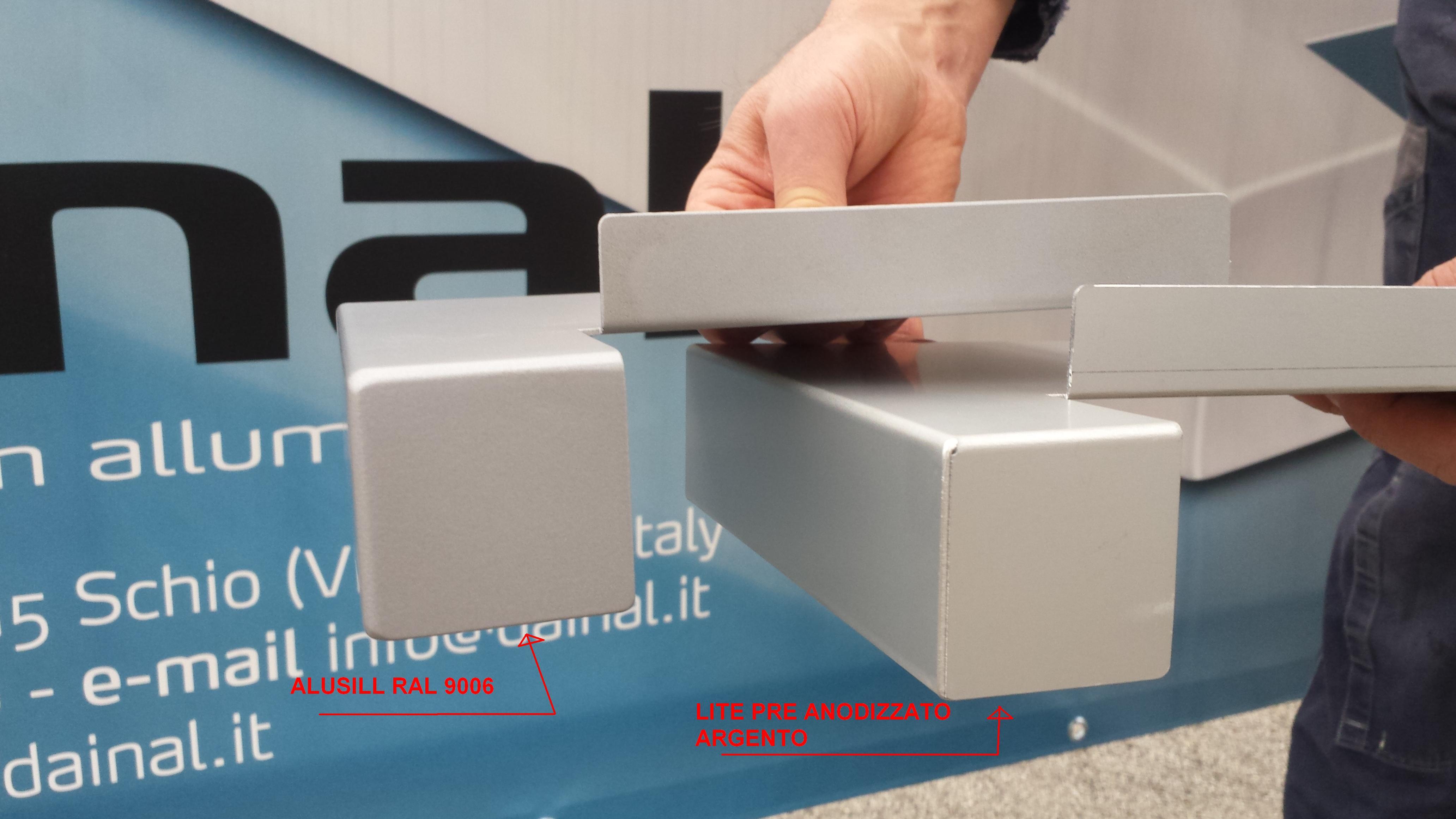 Davanzali in Alluminio in Italia